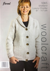 Woolcraft Shetlland Luxury  Chunky knitting pattern 1065