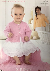 Sirdar4ply knitting pattern 4438