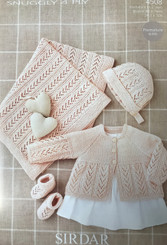Sirdar babies 4ply knitting pattern 4508