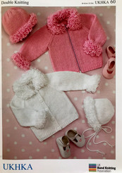 childrens DK knitting patterns UKHKA 60
