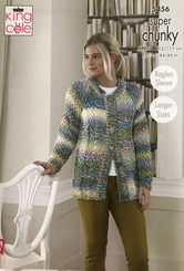 King Cole Super Chunky knitting pattern 5456
