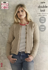 King Cole Ladies DK knitting pattern 5479