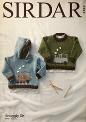 Sirdar Childrens DK knitting patterns 5290