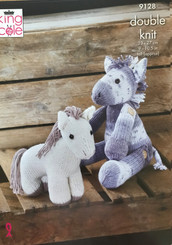 King Cole DK Pony Knitting pattern 9128