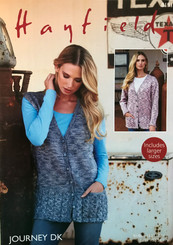 Hayfield ladies DK knitting pattern 8191