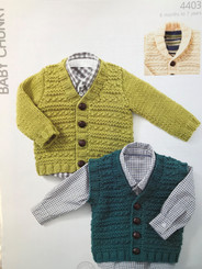 Hayfield boys chunky knitting pattern