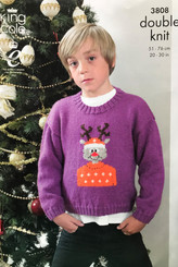 King Cole Boys Xmas jumper 3808