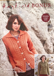 Hayfield ladies Aran knitting pattern  8232