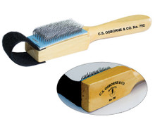 OSBORNE Leather Roughing Brush / Ruffer