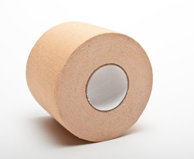 "2"" x 10 YD Flesh colored tape is used to cover unwanted tattoos you don't want to have appear on camera."