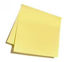 "3"" Yellow Post it Note"