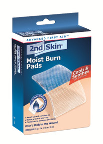 "2ND SKIN 3"" x 4"" Moist Burn Pads"