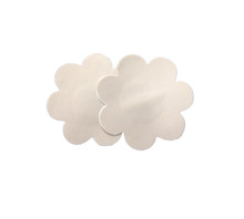 One pair of washable, reusable nude breast petals, utilized by professional costumers and stylists for film, theater, and fashion.