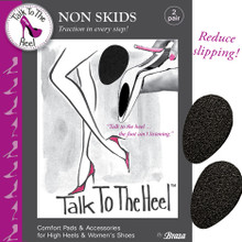 Non Skids - Shoe Sole Traction Pads (2 Pairs)