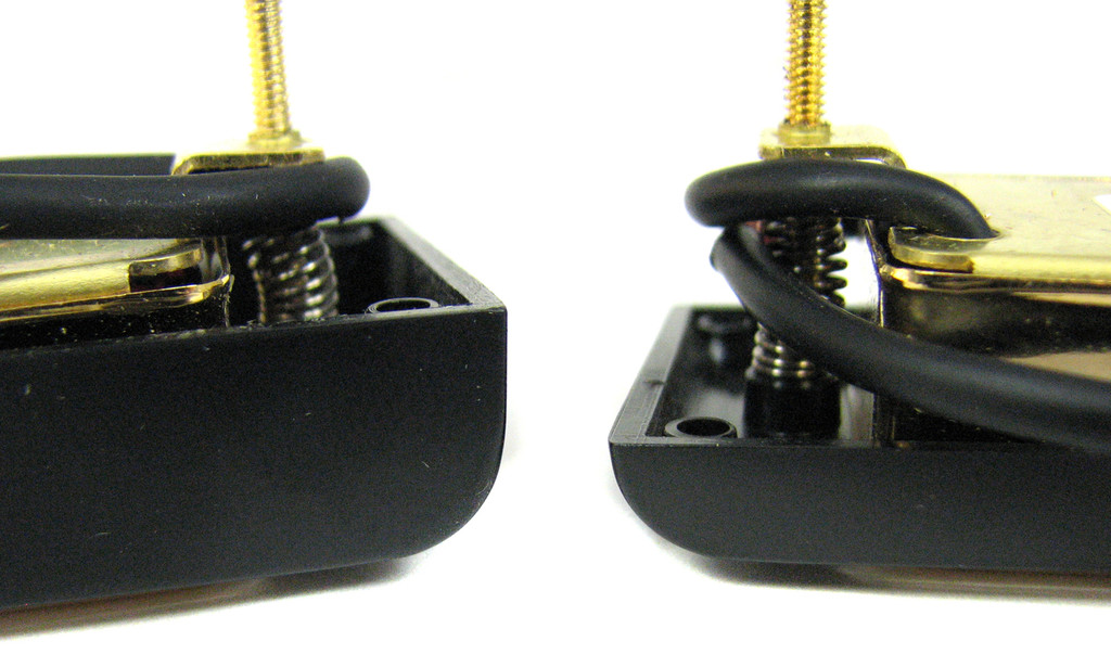 deville hot rod gold mini humbuckers matched set c b gitty crafter supply. Black Bedroom Furniture Sets. Home Design Ideas
