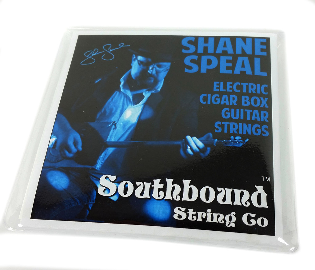 Shane Speal 6-string Cigar Box Guitar String Set - as used onstage by the King of the Cigar Box Guitar!