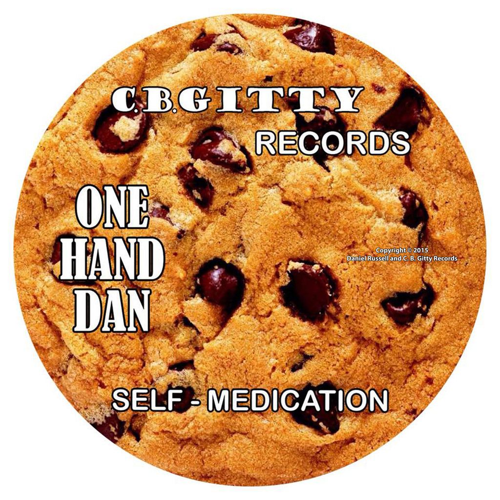"""Self Medication"" CD album by ""One Hand"" Dan Russell"