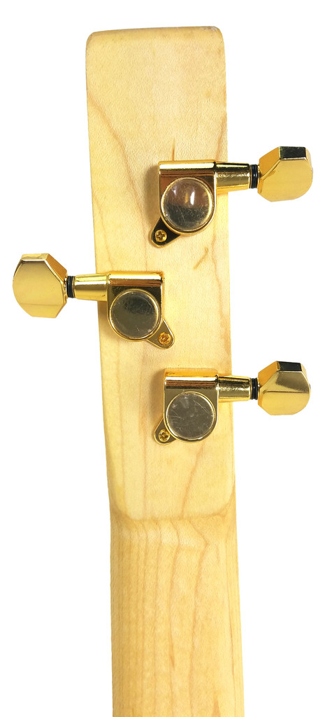 Gold Sealed-Gear Guitar Tuners/Machine heads - 6pc. 3 left/3 right