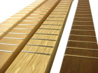Standard Cigar Box Guitar Necks - select Wood, Headstock and Fretting options