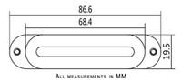 """Pawn Shop Monorail"" Single-Coil Electric Guitar Pickup"