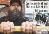 "A. J. Gaither's ""Arkansas Tenor"" String Set for 4-string Cigar Box Guitars - Low E, A, D, G"