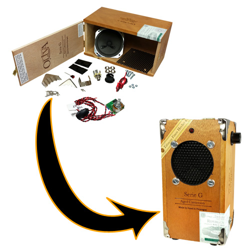 C. B. Gitty Cigar Box Amplifier Kit