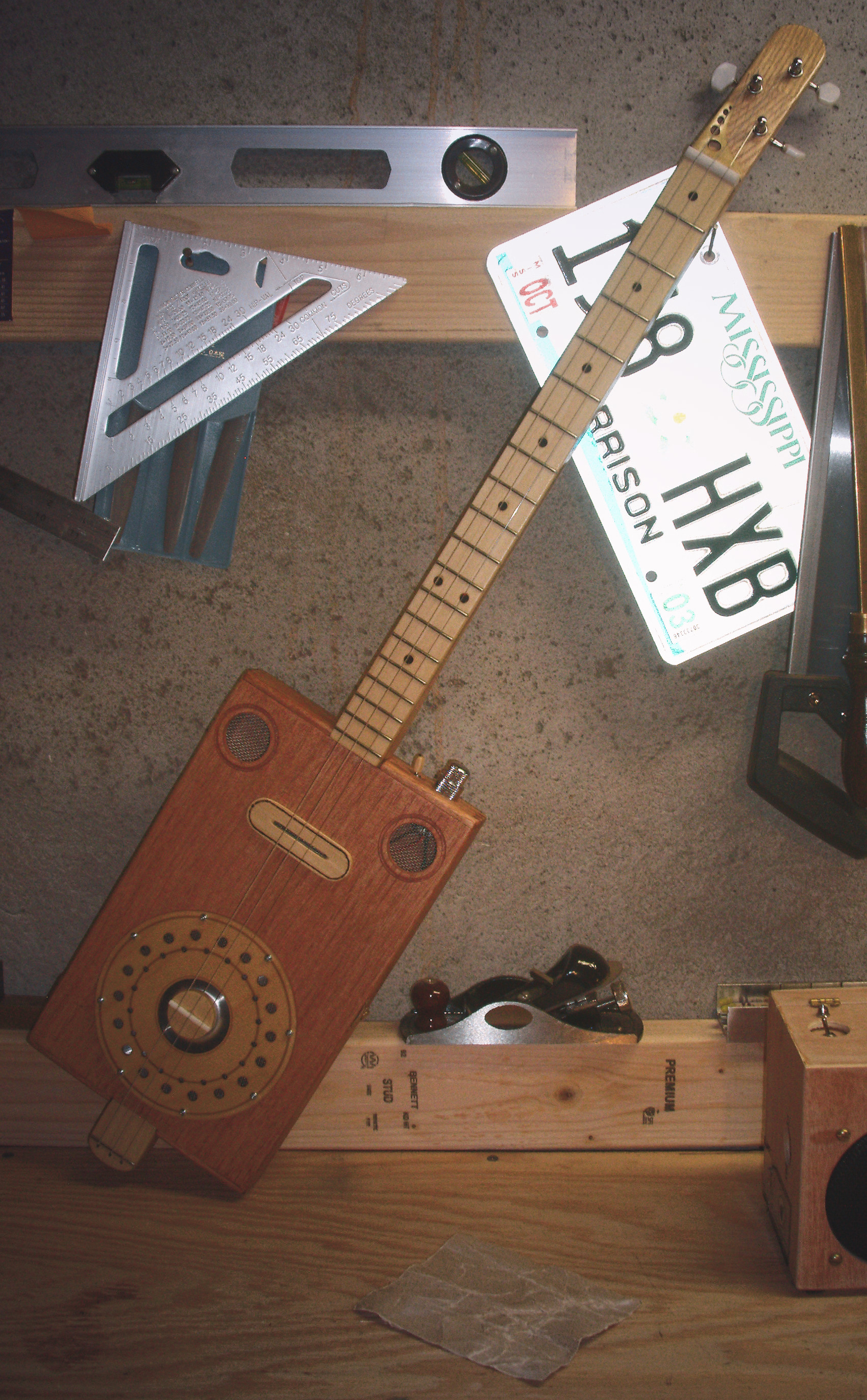 Builder S Diary Mike Willmouth S Beautiful Resonator