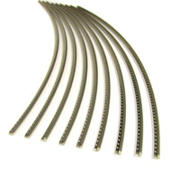 Jescar Wide-Medium (47104) Nickel-Silver Fret Wire (6 ft)