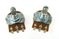 2-pack 1MOhm Bourns Audio-Taper Potentiometer