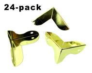 Art Deco-style Gold Corners - 24-pack
