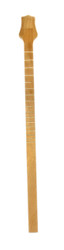 Premium Exotic Hardwood Cigar Box Guitar Neck - Genuine Mahogany with Gold Frets