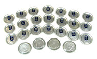 25pc. Aluminum Can Top Sound Hole Covers