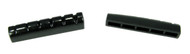 2pc. Black Plastic 6-String Guitar Nuts