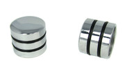 2-pack Chrome Dome Knobs with Speed Rings