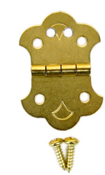 Cigar Box Guitar Hinge Tailpiece for 4-String CBGs
