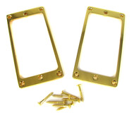2pc. Gold Full-Size Humbucker Rings