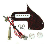 Florentine Screamer(tm) Pre-wired Pickup & Pickguard