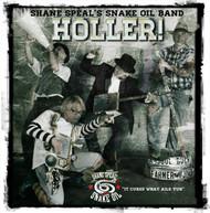 """""""Holler!"""" CD Album by Shane Speal's Snake Oil Band"""