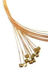 """18-gauge (.018"""") Phosphor Bronze Wound Guitar Strings (12-pack)"""