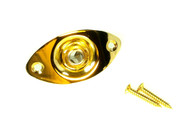 1pc. Gold Mono Jack Pre-mounted in Gold Jack Plate