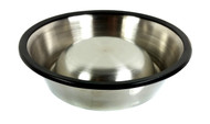 15cm. (6-inch) Stainless Steel Dog Dish - Cigar Box Guitar Resonator Cone