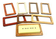 2pc. Soapbar P90 Pickup Cover Rings - Choose from 4 Wood Types!