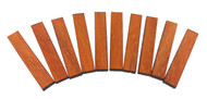 Hardwood Nut & Saddle Blanks for Cigar Box Guitars & More - Choose Wood and Quantity