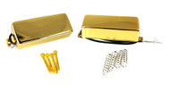 "Gold ""Snake Oil"" Mini Humbucking Pickups by Foundry-Tone"