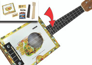 Cigar Box Ukulele Kit - Complete with all Parts, Hardware & Instructions