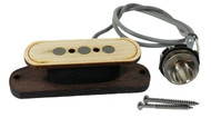 """Electric Delta"" 3-pole Electric Cigar Box Guitar Pickup by Foundry-Tone - No Soldering!"