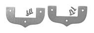 2pc. Stainless Steel Cigar Box Guitar Neck Collars