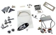 Chrome Hot Rod 3-string Electric Cigar Box Guitar Parts Pack