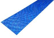"""Blue Moire Lap Steel (2.5"""") Acrylic Fretboard Underlay"""