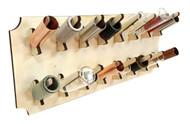 Wall-mount Guitar Slide Display Rack Kit  - Easy to Assemble & holds 16 slides!